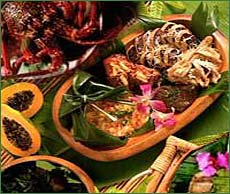 Click for Luau Menu's