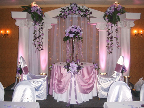 Wedding columns for rent europe real estate directory decorated wedding columns choice image wedding decoration ideas junglespirit Image collections
