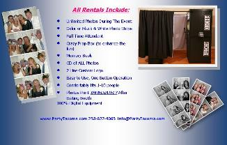 Photo Booth Rental Seattle Tacoma